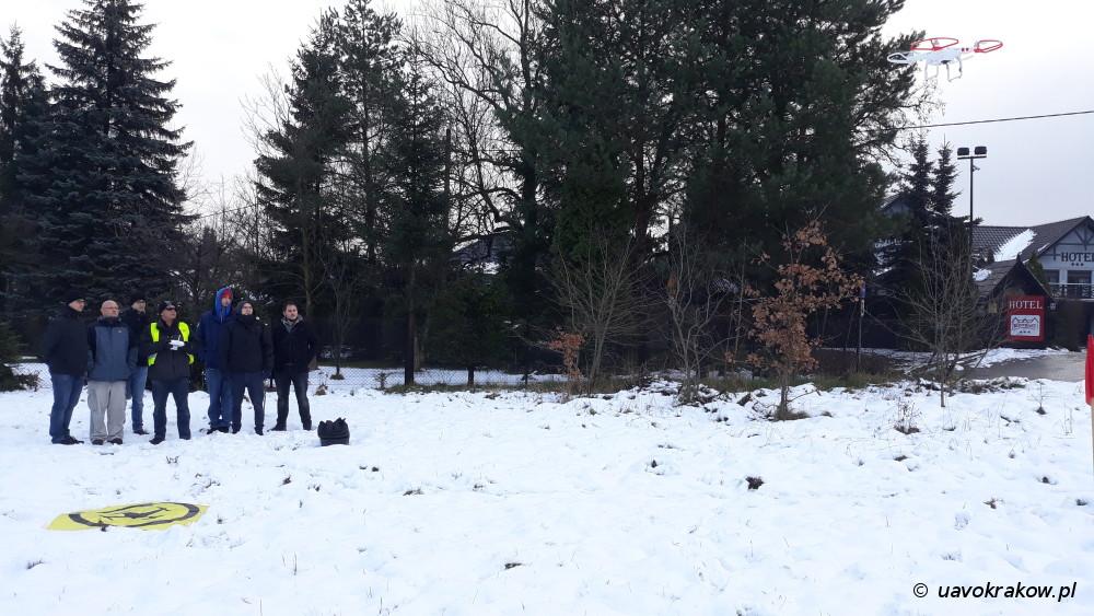 Szkolenie UAVO VLOS - Kraków - Grudzień 2017 - uavokrakow.pl