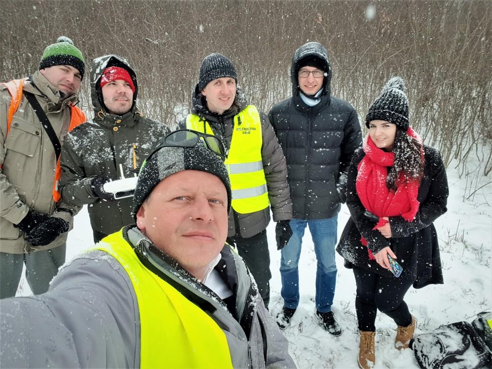 """Wiosenne"" szkolenie UAVO VLOS - 19-21.03.2018 - uavokrakow.pl"